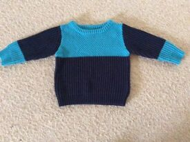 Boys Next Jumper 12-18 months