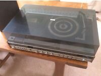 Vintage Marconiphone model 4463 music centre 1970's stereo record player retro with speakers