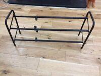 Very useful extendable shoe rack