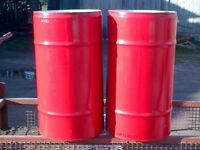 STEEL DRUM/BARREL/CONTAINER/PLANTER/BBQ