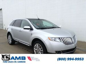 2011 Lincoln MKX AWD Adaptive Cruise Navigation Moonroof
