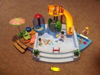 Playmobil Swimming Pool with Shower & Slide