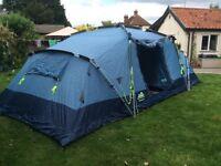 Khyam Harewood 6 berth quick erect tent