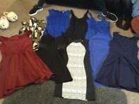 Bundle ladies dresses size 10/12.