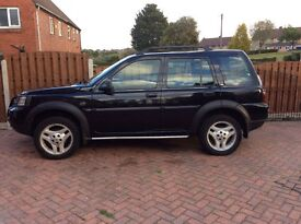 ***Reduced***2006 Landrover Freelander Freestyle 2.0 TD4, Black, FSH, 12 months MOT