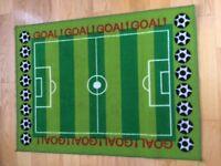 Football mat/rug 80x110cm