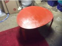 Moroccan Red Coffee Table