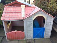 Plastic Garden Play House