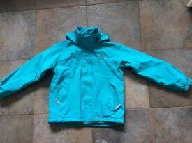 Regatta Great Outdoors waterproof jacket. Age 9-10