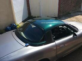 Mazda MX-5 hardtop. British racing green. Great Condition. Heated window. Genuine offers considered