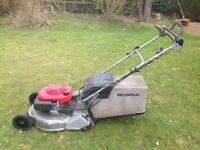 Honda power lawn mower large