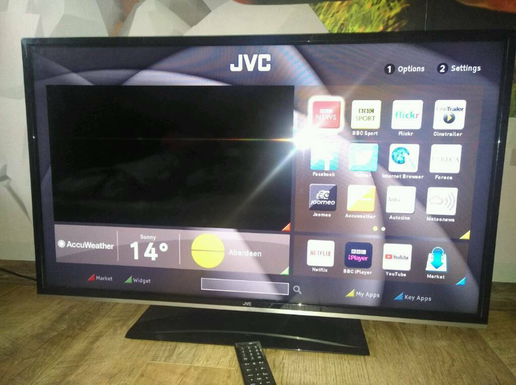 JVC 40 inch LED Smart TV with Wi-Fi Apps and FreeviewHD | in Sandwell, West  Midlands | Gumtree