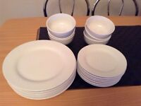 Plates and Bowls (Used)