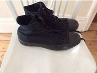 Converse size 8 high tops (black)