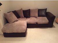Nice and comfortable corner sofa