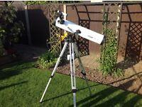 Telescope with trypod .