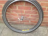 26inch bicycle wheel
