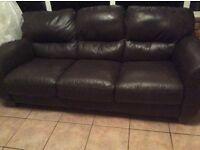 Bowen leather sofa free