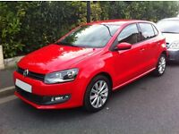 French registered LHD Volkswagen Polo 5 ConfortLine 1.6 TDI 90ch FAP 5 doors