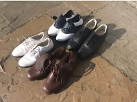 4 Pair of golf shoes. From £5