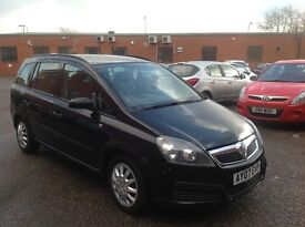 2007 Vauxhall Zafira Diesel Good Runner with 1 Owner history and mot