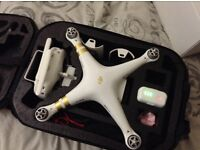 DJI Phantom 3 4K Drone with Carry Case, ND Filter + Extras