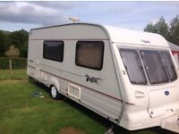 Bailey pageant champagne 2001 with full awning