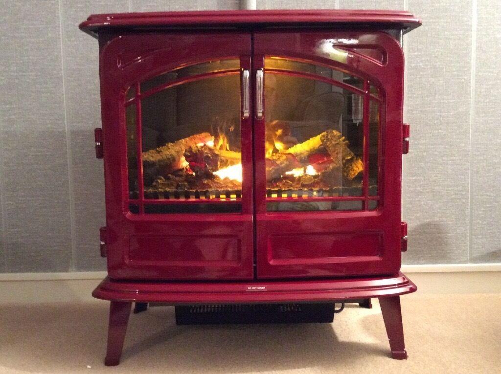 Dimplex Opti Myst Grand Rouge Log Effect Electric Fire