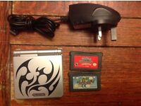 Gameboy advance sp tribal special edition bundle