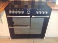 STOVES RANGE COOKER. All electric with 5 ring ceramic hob.