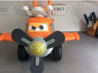 Sit on toy aeroplane.. ideal for 12-24 months. Used , excellent