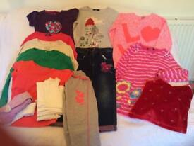 Great Bundle Of Girls Clothes 5-6 Years VGC