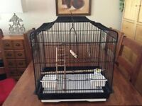 Bird cage suitable for budgie/canary/finches