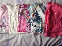 Nighties and Pyjamas aged 4-5yrs