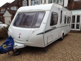 Abbey GTS 418 4 berth fixed bed caravan