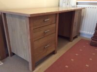 A nice Desk from 'NEXT' H74cm, W160cm, D70cm- Light Oak