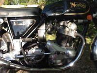 1974 Mk II 850 Norton Commando