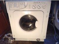 Integrated washing machine,£100.00