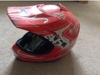 Childs Motor Bike Helmet