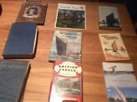 Canals and Waterways -a box of books