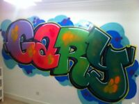 Proffesional Graffiti & Street Artist For Hire