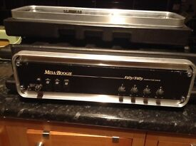 Mesa Boogie fifty/fifty flight cased