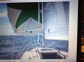 Anderson 22 sailing boat for sale