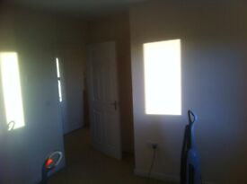 A Unfinished one bedroom top floor flat for renting