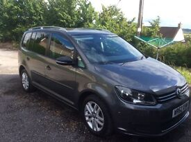 Vw touran 1.6 bluemotion TDI 105 SE Tech 7 seats grey