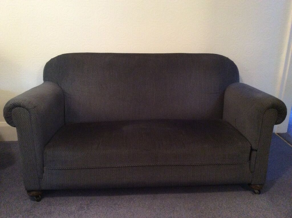 Vintage sofa chaise long and sofabed in englefield for Chaise long sofa