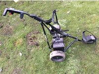 Powakaddy freeway titanium golf trolley with battery and charger
