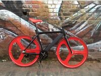 Brand new NOLOGO Aluminium single speed fixed gear fixie bike/ road bike/ bicycles 7g