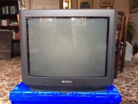 "Sony 21"" television"