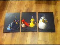 ANGRY BIRDS - CANVAS ART